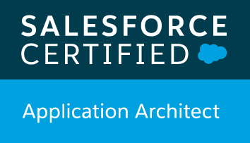 Saleforce Certified Application Architect