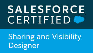 Saleforce Certified Sharing and Visibility Designer