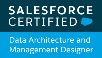 Saleforce Certified Data Architecture and Management Designer